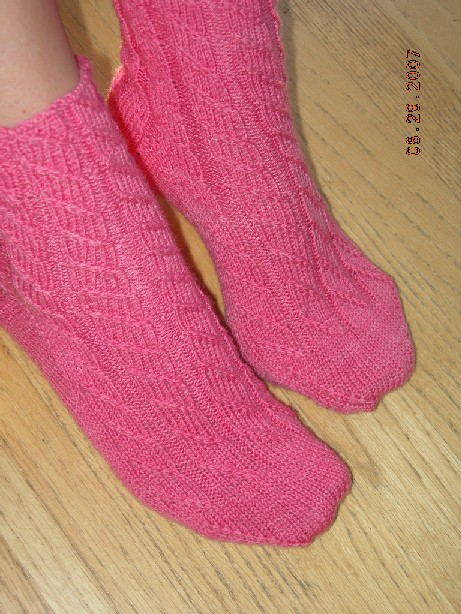 Candyflosspinksocks