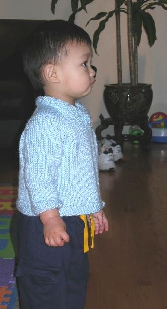 Placketsweater